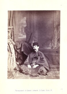 Sir Richard Francis Burton, by Ernest Edwards, published by  Alfred William Bennett - NPG x14771