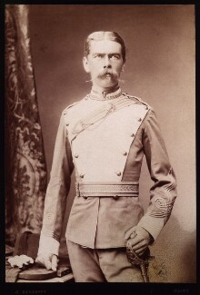 Herbert Kitchener, 1st Earl Kitchener, by Otto Schoefft - NPG x15599