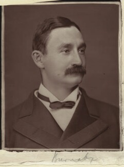 Frederick Burnaby, by Lock & Whitfield, 1877 or before - NPG x4901 - © National Portrait Gallery, London