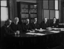 The High Commissioners to the Dominions Offices (including (Charles) Vincent Massey and Anthony Eden, 1st Earl of Avon), by Bassano Ltd, 20 November 1940 - NPG x154416 - © National Portrait Gallery, London
