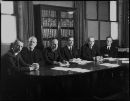 The High Commissioners to the Dominions Offices (including (Charles) Vincent Massey and Anthony Eden, 1st Earl of Avon), by Bassano Ltd, 20 November 1940 - NPG x154417 - © National Portrait Gallery, London