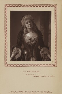Rose Leclercq, by W. & D. Downey, published by  Eglington & Co - NPG Ax9351