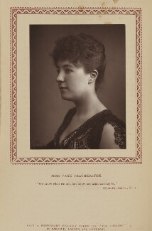 Vane Featherston, by Herbert Rose Barraud, published by  Eglington & Co - NPG Ax9353