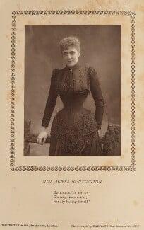 Agnes Huntington, by Herbert Rose Barraud, published by  Eglington & Co - NPG Ax9359