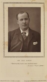 Ben Davies, by Herbert Rose Barraud, published by  Eglington & Co - NPG Ax9366