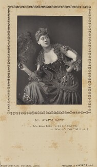 Sylvia Grey, by W. & D. Downey, published by  Eglington & Co - NPG Ax9369