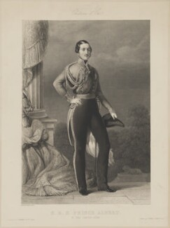 Prince Albert of Saxe-Coburg-Gotha, by Skelton and Hopwood, published by  Longmans & Co, published by  Goupil & Vibert, after  Franz Xaver Winterhalter - NPG D33756