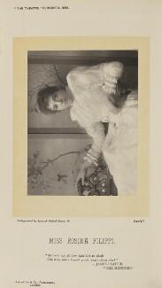 Rosina Filippi (Mrs H.M. Dowson), by Herbert Rose Barraud, published by  Eglington & Co - NPG Ax9381