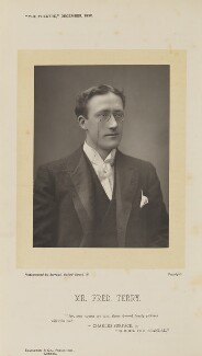 Fred Terry, by Herbert Rose Barraud, published by  Eglington & Co - NPG Ax9382