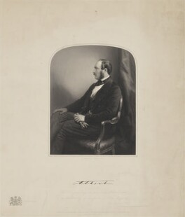 Prince Albert of Saxe-Coburg-Gotha, by and published by Francis Holl, after  Unknown artist - NPG D33760
