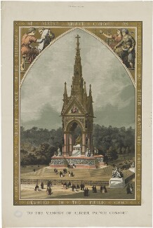 The Albert Memorial (Prince Albert of Saxe-Coburg-Gotha), published by The Graphic - NPG D33765