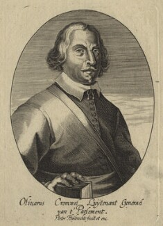 Oliver Cromwell, by and published by Peeter Huybrechts, after  Unknown artist - NPG D33785