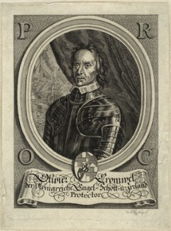 Oliver Cromwell, by Cornelius Nicolas Schurtz, after  Unknown artist - NPG D33789