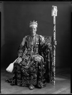Ladapo Samuel Ademola II, King of Abeokuta, by Hay Wrightson, 11 June 1937 - NPG x132162 - © National Portrait Gallery, London