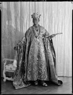Ladapo Samuel Ademola II, King of Abeokuta, by Hay Wrightson, 11 June 1937 - NPG x132174 - © National Portrait Gallery, London