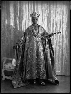Ladapo Samuel Ademola II, King of Abeokuta, by Hay Wrightson - NPG x132176