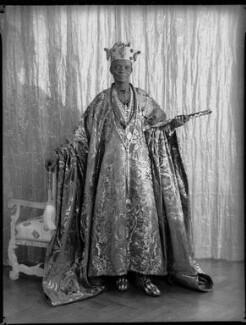 Ladapo Samuel Ademola II, King of Abeokuta, by Hay Wrightson, 11 June 1937 - NPG x132177 - © National Portrait Gallery, London