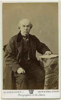 Sir William Jenner, 1st Bt, by Wilson & Beadell - NPG x75760