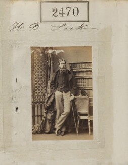 Henry Brougham Loch, 1st Baron Loch, by Camille Silvy - NPG Ax51859