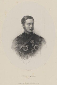 Prince Arthur, 1st Duke of Connaught and Strathearn, by John Alfred Vinter, after  Karl Wilhelm Friedrich Bauerle - NPG D33799