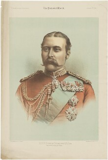 Prince Arthur, 1st Duke of Connaught and Strathearn, by Maclure & Macdonald, after  Maull & Fox - NPG D33800