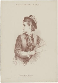 Princess Louise, Duchess of Connaught (née Princess of Prussia), by Judd & Co, after  Unknown artist - NPG D33801