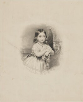 Victoria, Empress of Germany and Queen of Prussia, by James Thomson (Thompson), after  John Lucas - NPG D33809