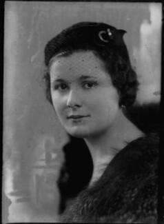 Lady Frances Jane Hanmer (née Cole), by Bassano Ltd - NPG x153864
