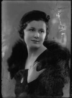 Lady Frances Jane Hanmer (née Cole), by Bassano Ltd - NPG x153865
