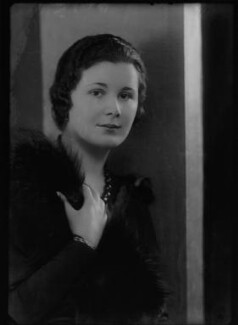 Lady Frances Jane Hanmer (née Cole), by Bassano Ltd - NPG x153866