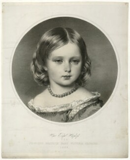 Princess Beatrice of Battenberg, by John Alfred Vinter, after  Franz Xaver Winterhalter - NPG D33825
