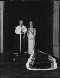 Prince George, Duke of Kent; Princess Marina, Duchess of Kent, by Hay Wrightson - NPG x132139