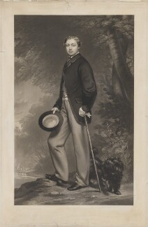 King Edward VII, by William Henry Simmons, after  John Whitehead Walton, published by  Henry Graves & Co - NPG D33838