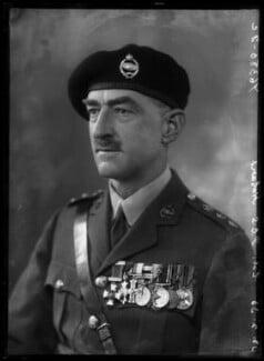 Sir Percy Cleghorn Stanley Hobart, by Bassano Ltd - NPG x153890