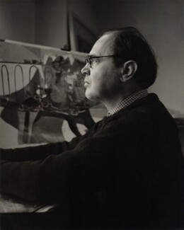 Michael Rothenstein, by Geoffrey Ireland, 1950s - NPG x32724 - © Geoffrey Ireland / National Portrait Gallery, London
