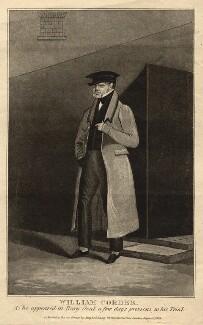William Corder, after Unknown artist - NPG D9317