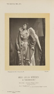 Julia Emilie Neilson as Drusilla Ives in 'The Dancing Girl', by Elliott & Fry, published by  Eglington & Co - NPG Ax28819