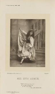 Katie Seymour as Blanche Darc in Joan of Arc, by Alfred Ellis, published by  Eglington & Co - NPG Ax46554