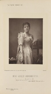 Violet Caroline Josephine Jeanne Rosa Armbruster (Mrs Willis), by Alfred Ellis, published by  Eglington & Co - NPG Ax28826