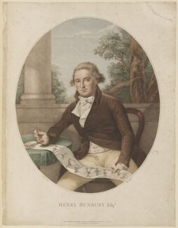 Henry William Bunbury, by and published by Thomas Ryder, published by  S. Watts, after  Sir Thomas Lawrence - NPG D15022
