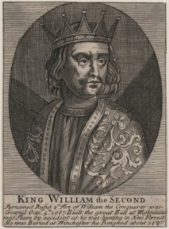King William II ('Rufus'), after Unknown artist - NPG D33922