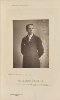 (Walter) Weedon ('Wee-Gee') Grossmith, by Alfred Ellis, published by  Eglington & Co - NPG Ax28827