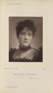 Ethel Matthews, by Alexander Bassano, published by  Eglington & Co - NPG Ax28828