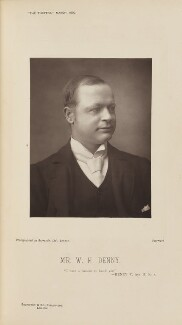 William Henry Denny (William Henry Dugmore), by Barrauds Ltd, published by  Eglington & Co - NPG Ax28829