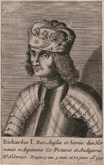 King Richard I ('the Lionheart'), probably after Renold or Reginold Elstrack (Elstracke), 1649? - NPG D33927 - © National Portrait Gallery, London