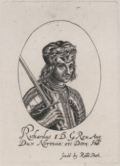 King Richard I ('the Lionheart'), probably after William Faithorne - NPG D33926