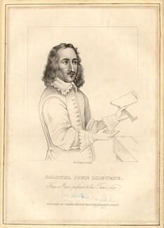 John Lilburne, by Richard Cooper, after  Unknown artist - NPG D9325
