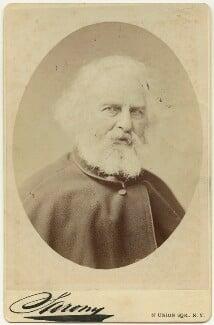 Henry Wadsworth Longfellow, by Napoleon Sarony - NPG x17945