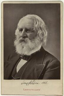 Henry Wadsworth Longfellow, by G.W. Bacon & Co - NPG x20093