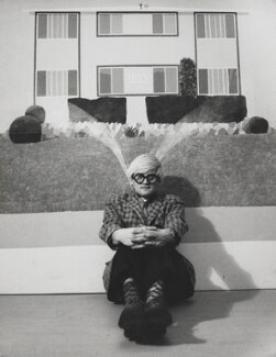 David Hockney, by J.S. Lewinski - NPG x13726